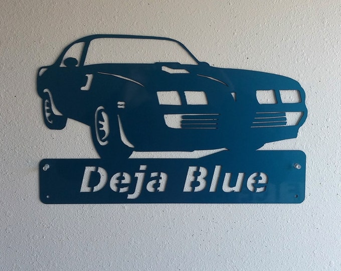 1979 Pontiac Firebird Trans Am Personalized Man Cave Classic  Garage Sign Custom Colors