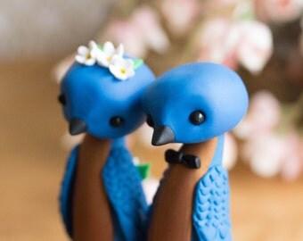 Bluebird Wedding Cake Topper by Bonjour Poupette
