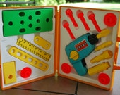 Vintage 1977 Fisher Price Tool Kit