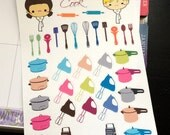 Lets Cook Planner Stickers