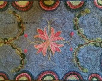 NEW, NEW! Spring Fling Primitive Rug Hooking Pattern