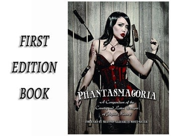 CLEARANCE! Phantasmagoria: A Compendium of Corsetry and Latex Designs of Jupiter Moon 3, Limited Edition Fashion