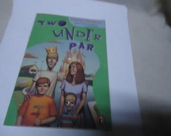 Vintage 1987 Two Under Par Softback Book by Kevin Henkes, colelctable