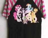 Womens - My Little Pony Raglan (XS-XL)