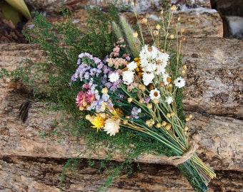DIY Bundle of Loose DRIED FLOWERS - Perfect for Rustic Country Weddings