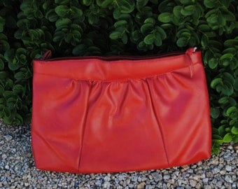 Vintage 1980's Cherry Red Purse