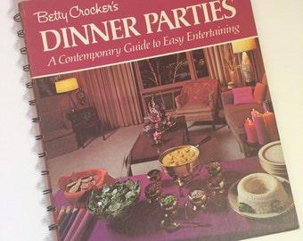 1970's Betty Crocker Cookbook - Dinner Parties -