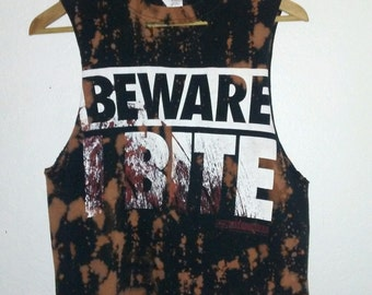 The Walking Dead TShirt / Crop Top / Muscle Tee / Graphic / Daryl Dixon / Rick Grimes / Indie / Grunge /RockNRoll / Scary / Living Dead Girl