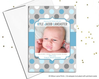 Printable baby boy birth announcement (178)