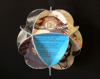 Doobie Brothers Album Cover Ornament Made Of Record Jackets - Michael McDonald