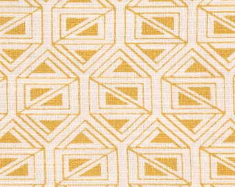 Nate Berkus Birnbeck Eldorado golden orange triangle geometric abstract decorative designer pillow cover