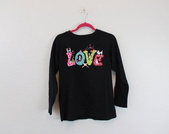 Vintage Funky Dog Love Sweatshirt