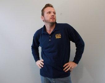 Vintage University of Michigan National Champions Polo Long Sleeve shirt