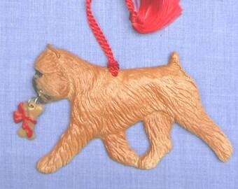 Brussels Griffon Christmas Ornament