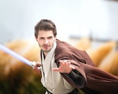 Star Wars Jedi Tunic With Robe Custom Made to Order