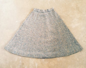Speckled A-Line Skirt