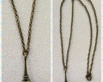 Eiffel Tower Paris Necklace