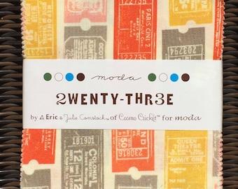 2wenty-Thr3e charm pack Cosmo Cricket moda fabrics OOP HTF