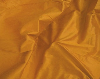 Silk Dupioni Fabric - Dull Orange - 1 yard sld004