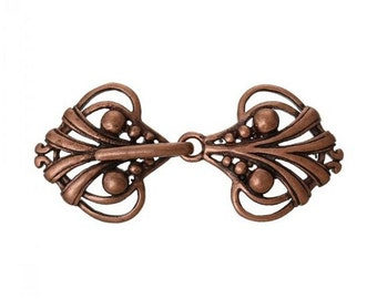 Cloak Clasp, Copper