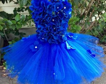 Halter flower tutu dress, girls tutu, toddler tutu, pageant tutu, flower girl dress, tulle tutu, flower girl dress tulle, girl clothing