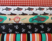 Blackbeards Pirates Rag Quilt Kit,Easy to Make, Personalized