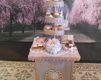 Le présentoire aux gâteaux