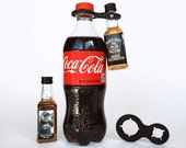 Jack and Coke Mini Bottle Drink Connector Rings Adult Birthday Party Favors 21 30 40 50 Bithday Cocktail Whiskey Shots Alcohol Liquor Gifts