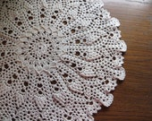 Doily, lacy doily, table runner, Housewarming Gift, crocheted lacy doily, center piece, wedding decor, wedding gift