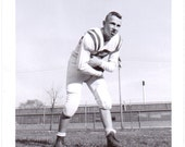 Vintage Photograph - Football Player - Vintage Photo, Vernacular, Found Photo, Ephemera (C)