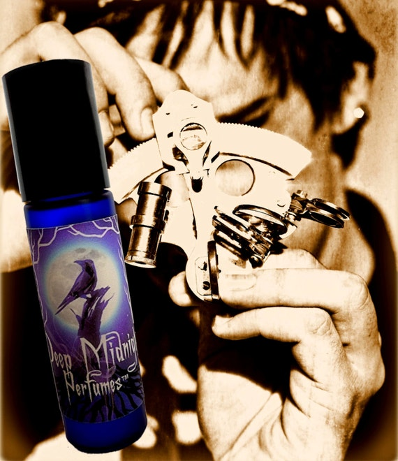 Torpedo Ted Perfume Oil - Ocean Air, Spices, Exotic Woods, Salty Sea Breezes