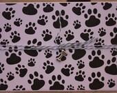 Dog Sympathy Card, Dog Loss Card Pet Loss Card, Pet Sympathy Card, Black Pawprints Card