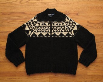mens vintage Polo cowichan sweater