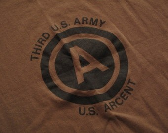 vintage third army ARCENT t shirt