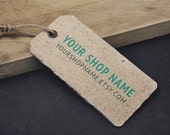 Hang Tag - Customizable Hang Tag Design -  Tag for Clothing, Jewelry, Arts and Crafts