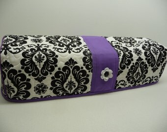 Cricut EXPLORE Dust Cover Cozy - Delightful Damask Purple