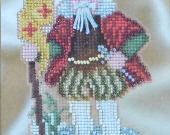 Genoa Santa - Mill Hill Renaissance Santas Collection - Bead Kit MH120-1633