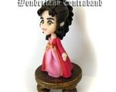 NEW - Buffy Halloween - Miniature Sculpture - OOAK Surface Decor