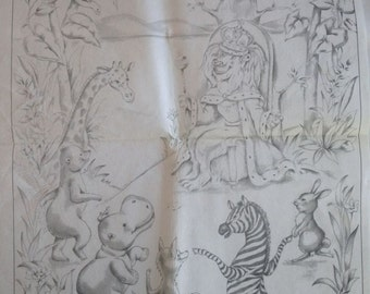 Tri Chem Pictures to Paint – Animal Kingdom No. 7495 - Vintage
