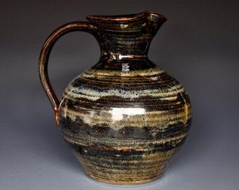 Stoneware Pitcher Ceramic Pitcher Pottery Vase Ceramic Jug A