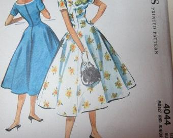1957 Uncut Vintage Dress Pattern