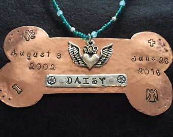 Completely Custom Pet Memorial Urn Charms and Tags