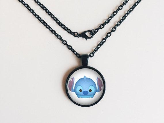 Stitch from Lilo & Stitch Tsum Tsum Necklace or Keychain