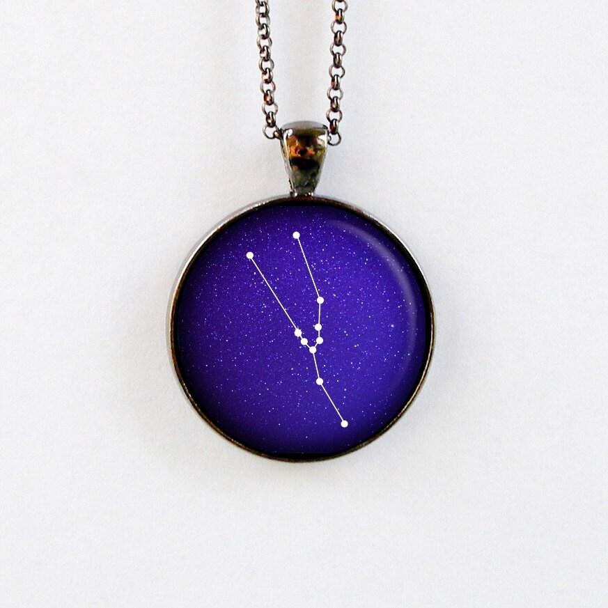 Taurus Constellation Necklace