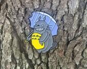 Totoro Morton Salt Jawbreaker Soft Enamel Lapel Pin