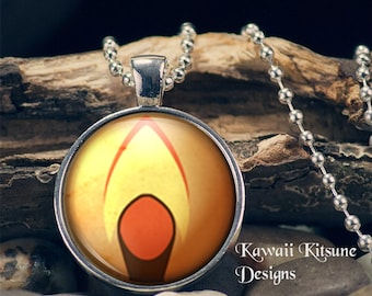 "Plasmid #1 Inspired 1"" Glass Dome Pendant"