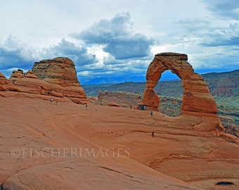 Delicate Arch Arches National Park Utah Landscape Wall Art Home Decor Digital Download or Photo Print Fine Art Photography Fischerimages
