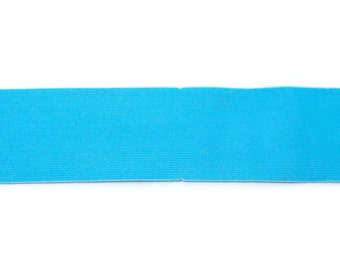 2 Inch Waistband Elastic in Aqua from Riley Blake