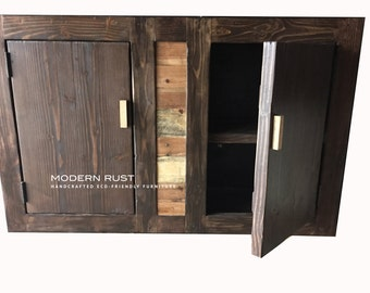 5 foot buffet table / 5 foot cabinet with doors
