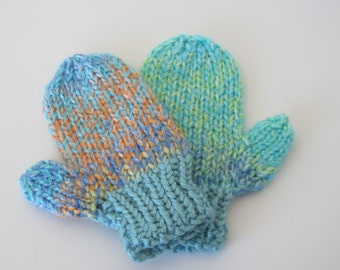 Colorful Baby Mittens